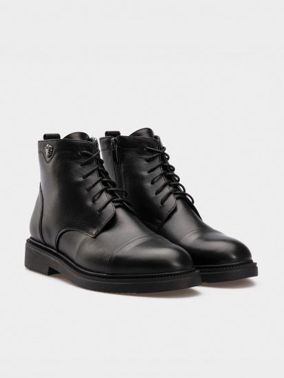 Черевики  жіночі Ботинки черная кожа. Байка 14500120 брендове взуття, 2017
