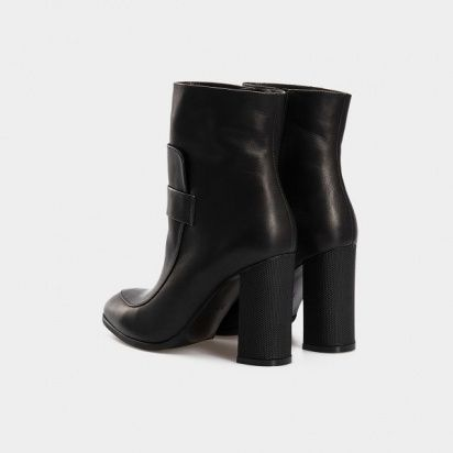 Ботинки женские Ботинки 1514-230 черный нубук. Шерсть 1514-230 , 2017