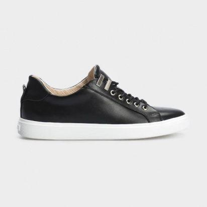 Кеды для женщин Кеды 153-2-010 черная кожа 153-2-010 цена обуви, 2017