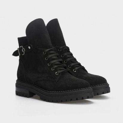 Ботинки женские Ботинки 1538-1-020 чорна замша. Байка 1538-1-020 цена, 2017
