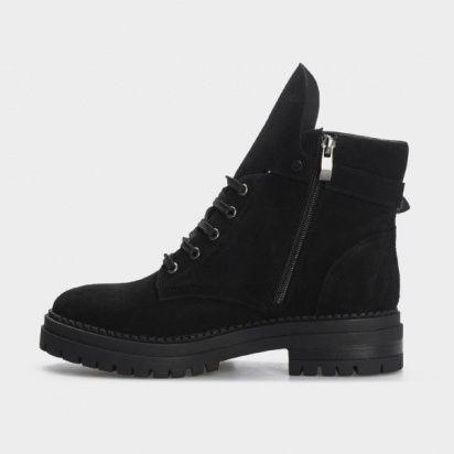 Ботинки женские Ботинки 1538-1-020 чорна замша. Байка 1538-1-020 обувь бренда, 2017
