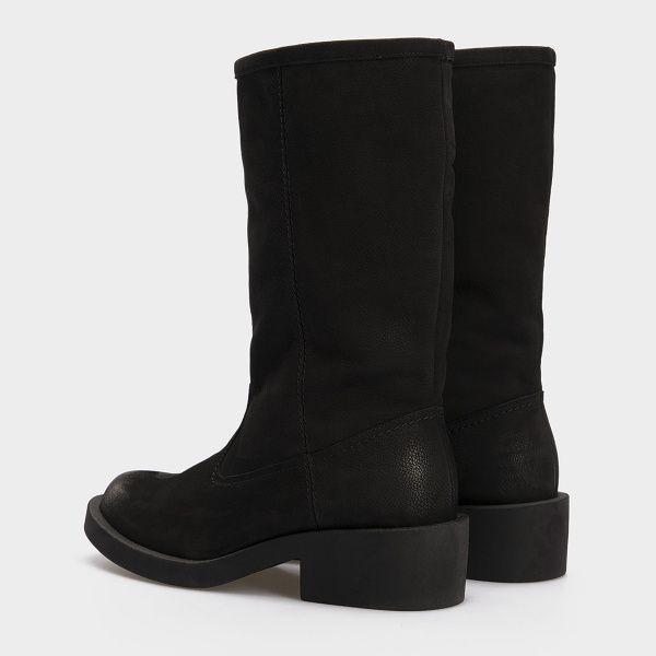 Сапоги женские Сапоги 15763253-230 черный нубук. Шерсть 15763253-230 выбрать, 2017