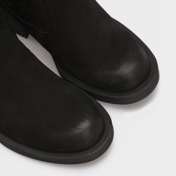 Сапоги женские Сапоги 15763253-230 черный нубук. Шерсть 15763253-230 смотреть, 2017