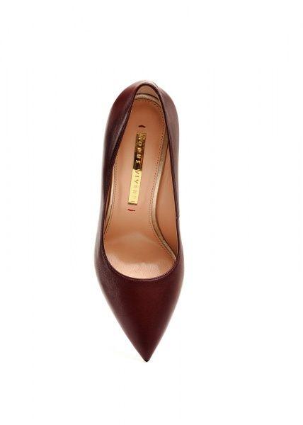 женские 158001 Бордовые кожаные туфли Modus Vivendi 158001 цена, 2017