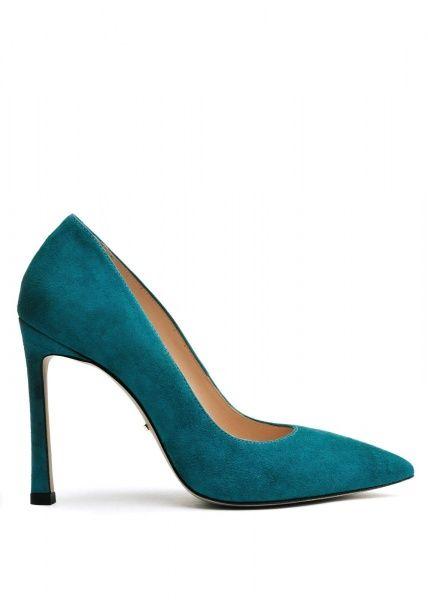 женские 158011 Замшевые бирюзовые туфли Modus Vivendi 158011 брендовая обувь, 2017