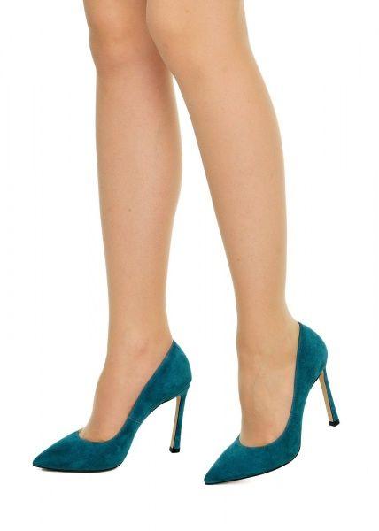 женские 158011 Замшевые бирюзовые туфли Modus Vivendi 158011 примерка, 2017