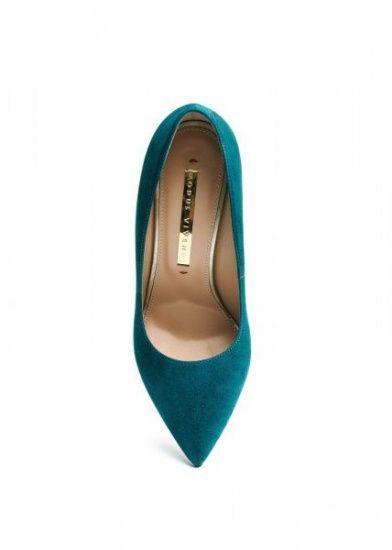 женские 158011 Замшевые бирюзовые туфли Modus Vivendi 158011 купить в Интертоп, 2017