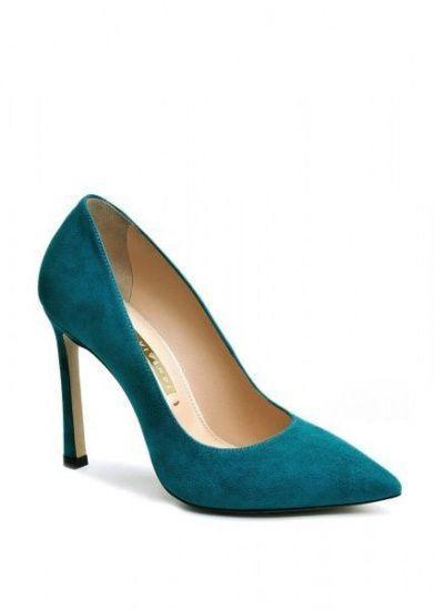 женские 158011 Замшевые бирюзовые туфли Modus Vivendi 158011 выбрать, 2017
