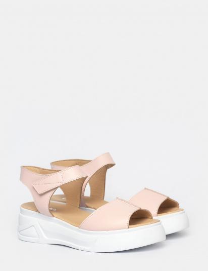 Босоніжки  жіночі Сандали 1597roz розовая кожа 1597roz модне взуття, 2017