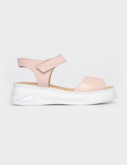 Босоніжки  жіночі Сандали 1597roz розовая кожа 1597roz брендове взуття, 2017