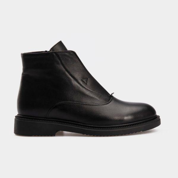 Ботинки женские Ботинки 16000220-2 черная кожа. Байка 16000220-2 выбрать, 2017