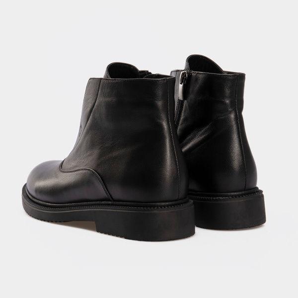 Ботинки женские Ботинки 16000220-2 черная кожа. Байка 16000220-2 обувь бренда, 2017