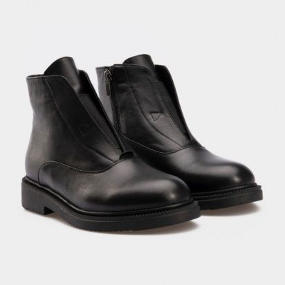 Ботинки женские Ботинки 16000220-2 черная кожа. Байка 16000220-2 цена, 2017