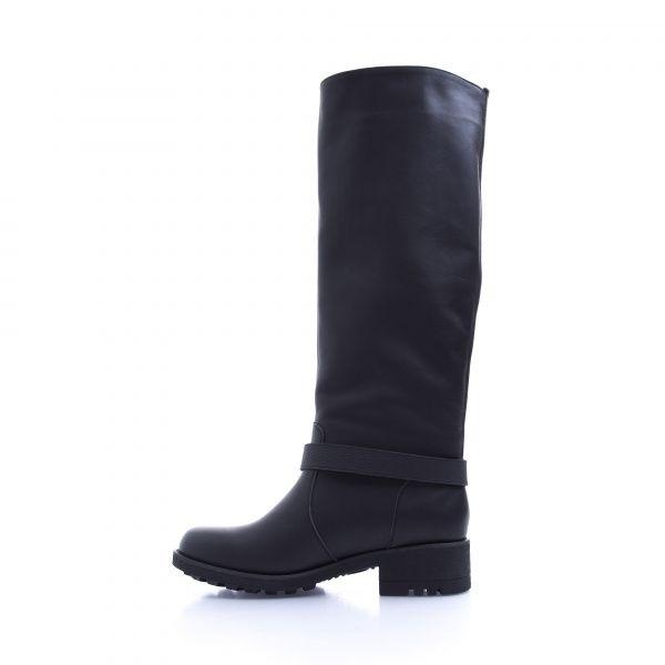 Сапоги для женщин Сапоги 1625-020 черная кожа. Байка 1625-020 купить в Интертоп, 2017