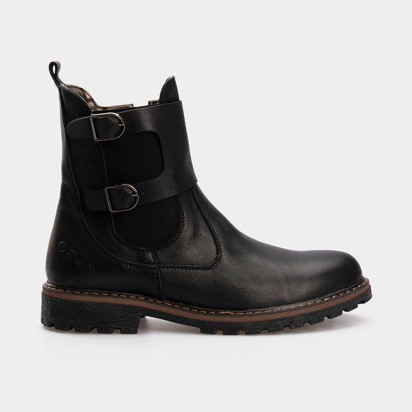 Купить Ботинки женские Gem 1640, Черный