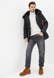 Airboss Куртка чоловічі модель 171000123221_black , 2017