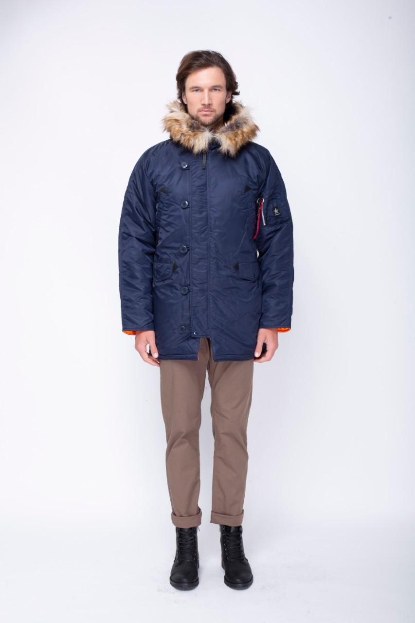 Airboss Куртка чоловічі модель 171000123221_rep_blue , 2017