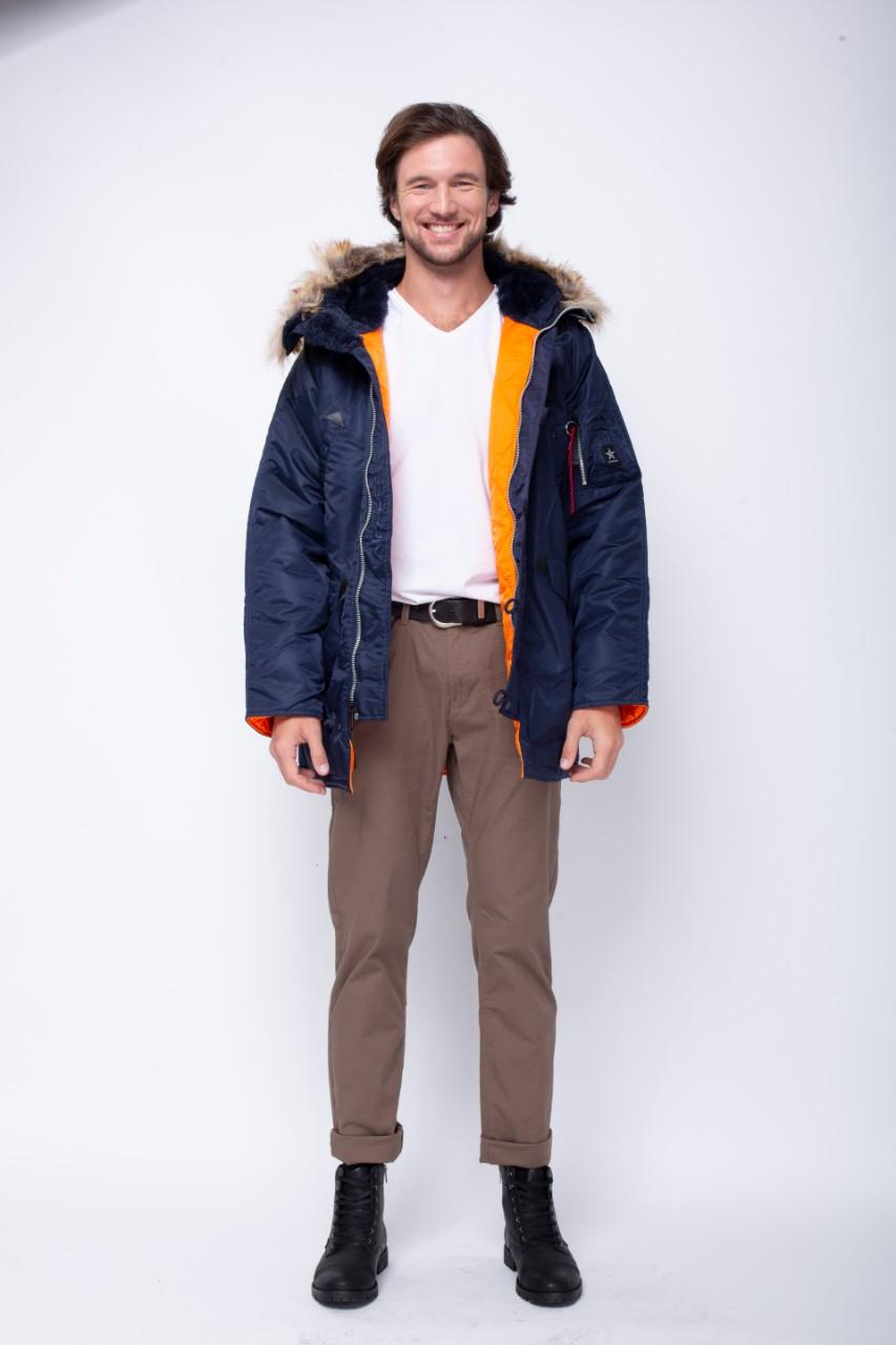 Airboss Куртка чоловічі модель 171000123221_rep_blue придбати, 2017