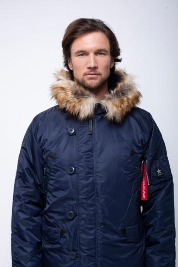 Airboss Куртка чоловічі модель 171000123221_rep_blue купити, 2017