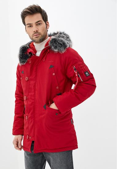 Airboss Куртка чоловічі модель 171000133223_red , 2017