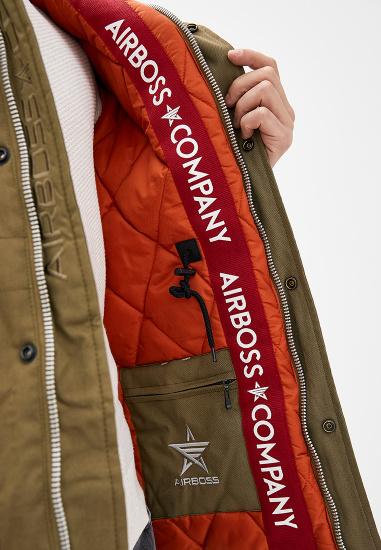 Куртка Airboss модель 171000223223_khaki — фото 4 - INTERTOP