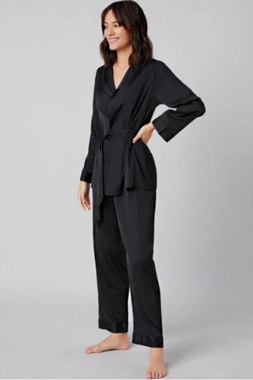 Домашній костюм GHAZEL модель 17111-106_black — фото 2 - INTERTOP
