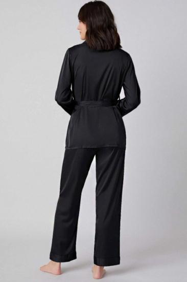 Домашній костюм GHAZEL модель 17111-106_black — фото 3 - INTERTOP