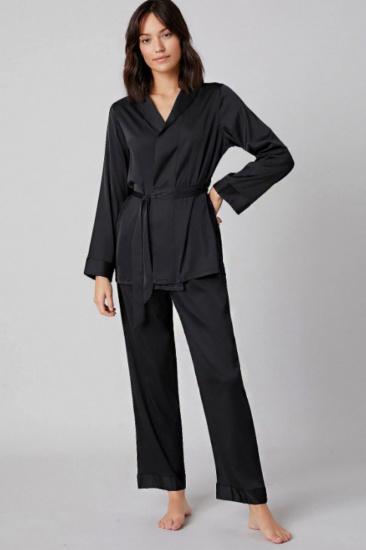 Домашній костюм GHAZEL модель 17111-106_black — фото - INTERTOP