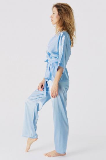 Домашній костюм GHAZEL модель 17111-106_blue — фото 2 - INTERTOP