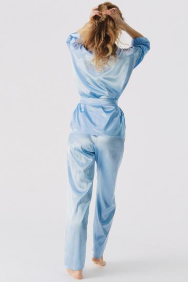 Домашній костюм GHAZEL модель 17111-106_blue — фото 3 - INTERTOP