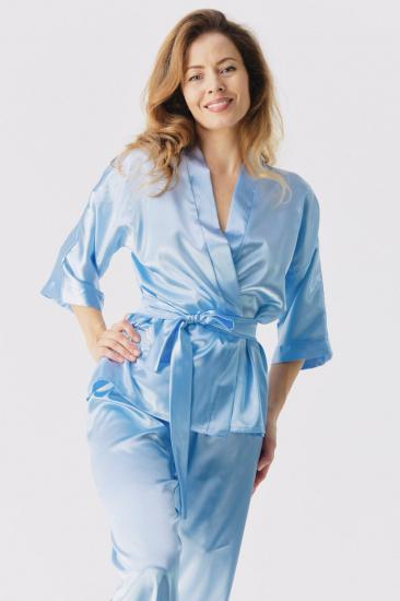 Домашній костюм GHAZEL модель 17111-106_blue — фото 4 - INTERTOP
