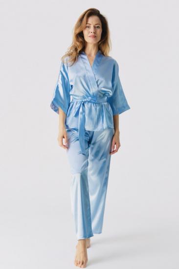 Домашній костюм GHAZEL модель 17111-106_blue — фото - INTERTOP