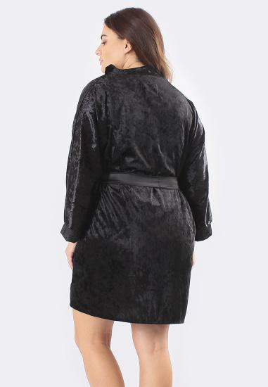 Домашній костюм GHAZEL модель 17111-12-88_black-pink — фото 2 - INTERTOP