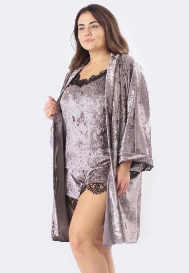 Домашній костюм GHAZEL модель 17111-12-88_fuchsia-fuchsia — фото 2 - INTERTOP