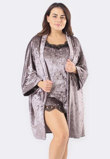 Домашній костюм GHAZEL модель 17111-12-88_fuchsia-fuchsia — фото - INTERTOP