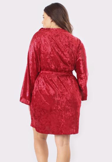 Домашній костюм GHAZEL модель 17111-12-88_red-red — фото 3 - INTERTOP