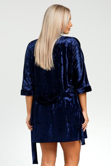 Домашній костюм GHAZEL модель 17111-12-8_blue-blue — фото 3 - INTERTOP