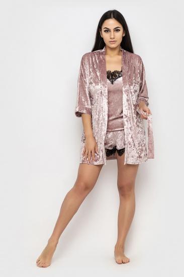 Домашній костюм GHAZEL модель 17111-12-8_pink-pink — фото - INTERTOP