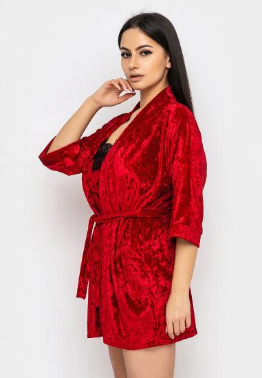 Домашній костюм GHAZEL модель 17111-12-8_red-red — фото 3 - INTERTOP