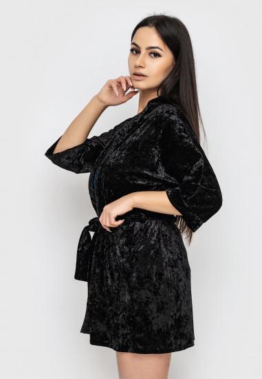 Домашній костюм GHAZEL модель 17111-12_black-black — фото 2 - INTERTOP