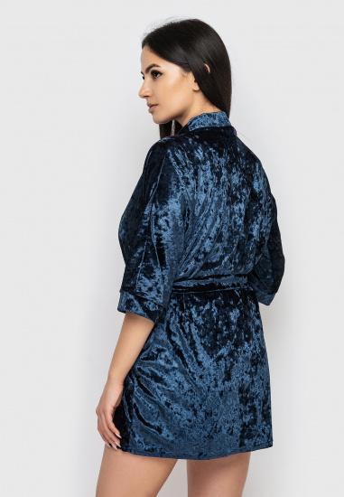 Домашній костюм GHAZEL модель 17111-12_blue-black — фото 5 - INTERTOP