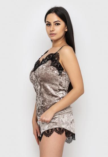 Домашній костюм GHAZEL модель 17111-12_fuchsia-fuchsia — фото 2 - INTERTOP
