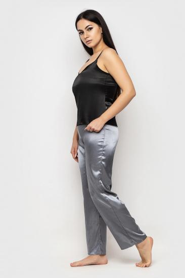 Домашній костюм GHAZEL модель 17111-26-8_black-grey — фото 2 - INTERTOP