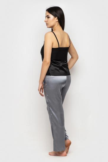Домашній костюм GHAZEL модель 17111-26-8_black-grey — фото 3 - INTERTOP