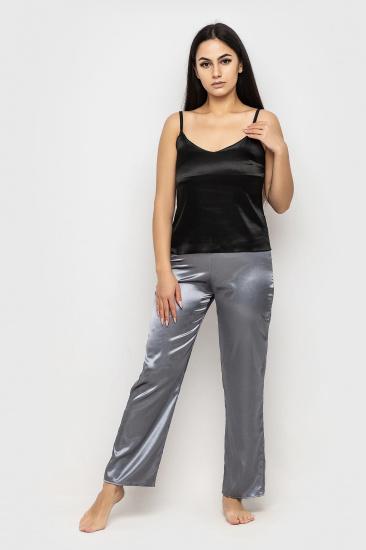 Домашній костюм GHAZEL модель 17111-26-8_black-grey — фото - INTERTOP