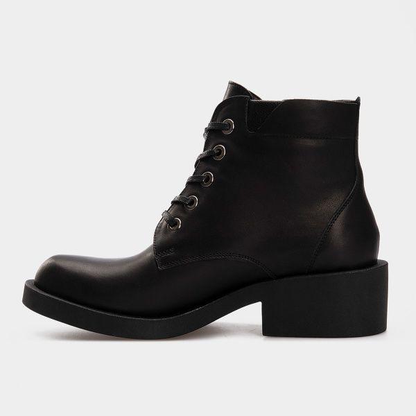 Ботинки для женщин Ботинки 1712-030 чорна шкіра. Вовна 1712-030 выбрать, 2017