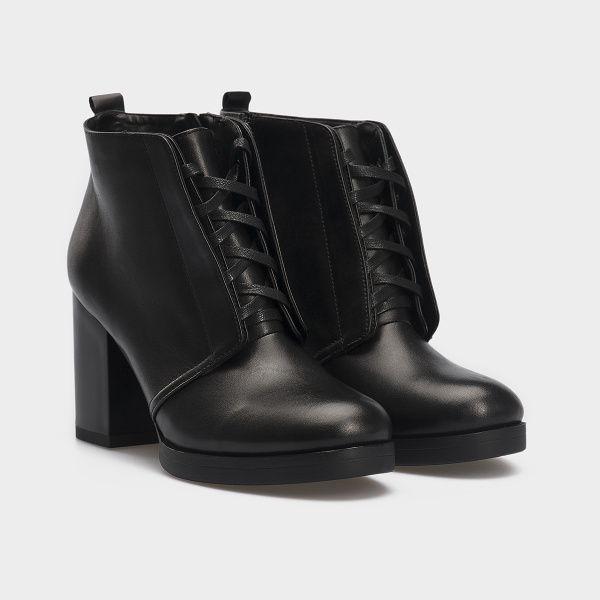 Ботинки женские Gem 17200131 примерка, 2017