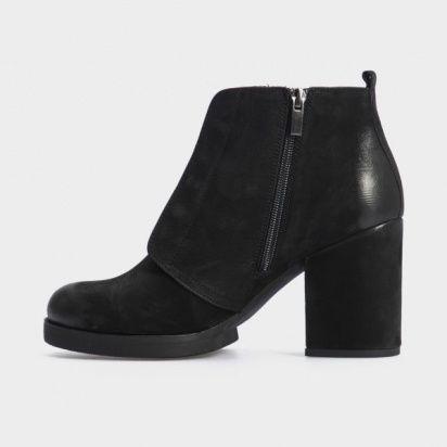 Ботинки женские Ботильоны 17218120-7 черный нубук. Байка 17218120-7 , 2017