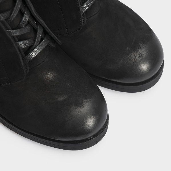 Ботинки женские Ботильоны 17218120-7 черный нубук. Байка 17218120-7 выбрать, 2017