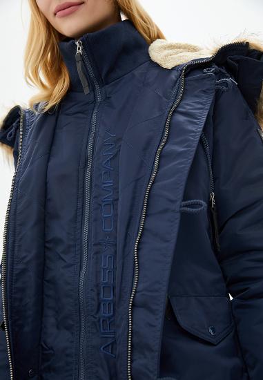 Куртка женские Airboss модель 173000773121_blue качество, 2017